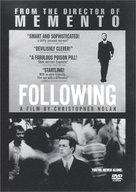 Following - DVD movie cover (xs thumbnail)
