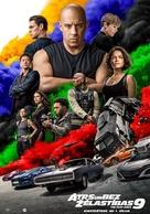 Fast & Furious 9 - Latvian Movie Poster (xs thumbnail)