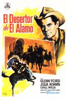 The Man from the Alamo - Spanish Movie Poster (xs thumbnail)