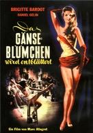 En effeuillant la marguerite - German DVD movie cover (xs thumbnail)