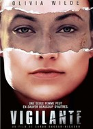 A Vigilante - French DVD movie cover (xs thumbnail)