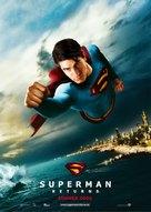 Superman Returns - German Movie Poster (xs thumbnail)