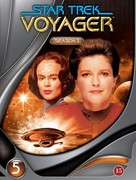"""Star Trek: Voyager"" - Danish DVD movie cover (xs thumbnail)"