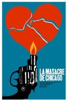 The St. Valentine's Day Massacre - Cuban Movie Poster (xs thumbnail)