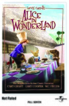 Alice in Wonderland - DVD cover (xs thumbnail)