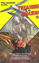 The Treasure of the Amazon - Australian VHS cover (xs thumbnail)