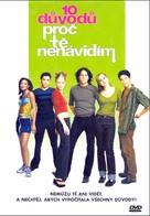 10 Things I Hate About You - Czech DVD movie cover (xs thumbnail)