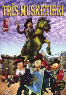 The Three Musketeers - Latvian DVD cover (xs thumbnail)