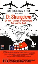 Dr. Strangelove - Australian Movie Cover (xs thumbnail)