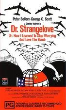 Dr. Strangelove - Australian Movie Cover (xs thumbnail)