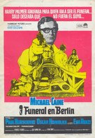 Funeral in Berlin - Spanish Movie Poster (xs thumbnail)