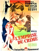 The Strange Love of Martha Ivers - French Movie Poster (xs thumbnail)