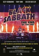 Black Sabbath the End of the End - Colombian Movie Poster (xs thumbnail)