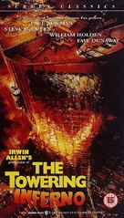 The Towering Inferno - British Movie Cover (xs thumbnail)
