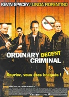 Ordinary Decent Criminal - French Movie Poster (xs thumbnail)