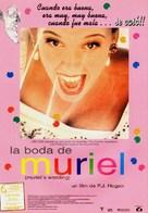 Muriel's Wedding - Spanish Movie Poster (xs thumbnail)