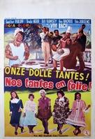 Unsere tollen Tanten - Belgian Movie Poster (xs thumbnail)