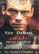 In Hell - Portuguese Movie Poster (xs thumbnail)