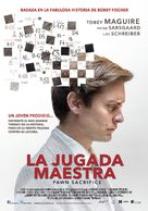 Pawn Sacrifice - Mexican Movie Poster (xs thumbnail)