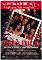 Peter's Friends - Movie Poster (xs thumbnail)