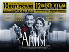 The Artist - British Movie Poster (xs thumbnail)