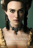 The Duchess - Lithuanian Movie Poster (xs thumbnail)