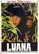 Luana la figlia delle foresta vergine - Spanish Movie Poster (xs thumbnail)