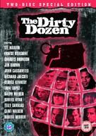 The Dirty Dozen - British DVD movie cover (xs thumbnail)