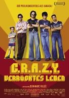 C.R.A.Z.Y. - German poster (xs thumbnail)