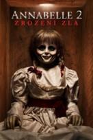 Annabelle: Creation - Czech Movie Cover (xs thumbnail)
