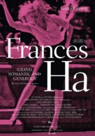 Frances Ha - Dutch Movie Poster (xs thumbnail)