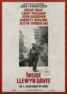 Inside Llewyn Davis - German Movie Poster (xs thumbnail)