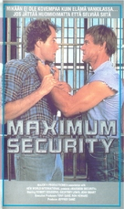 """Maximum Security"" - Finnish VHS cover (xs thumbnail)"