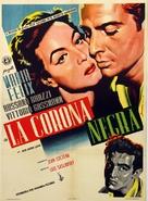 La corona negra - Mexican Movie Poster (xs thumbnail)
