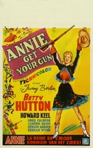 Annie Get Your Gun - Belgian Movie Poster (xs thumbnail)