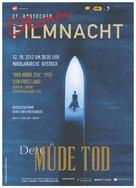 Der müde Tod - German Movie Poster (xs thumbnail)
