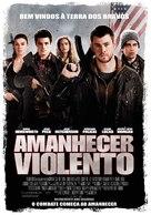 Red Dawn - Portuguese Movie Poster (xs thumbnail)