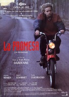 La promesse - Spanish Movie Poster (xs thumbnail)