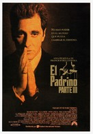 The Godfather: Part III - Spanish Movie Poster (xs thumbnail)