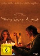 Mitte Ende August - German Movie Cover (xs thumbnail)