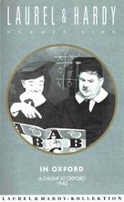 A Chump at Oxford - German VHS movie cover (xs thumbnail)