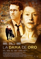 Woman in Gold - Spanish Movie Poster (xs thumbnail)