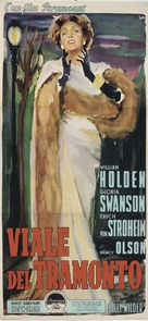 Sunset Blvd. - Italian Movie Poster (xs thumbnail)