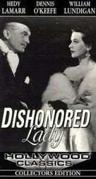 Dishonored Lady - VHS cover (xs thumbnail)