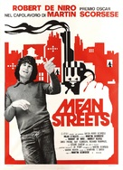 Mean Streets - Italian Movie Poster (xs thumbnail)