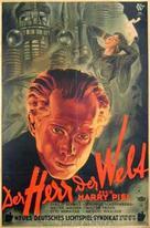 Der Herr der Welt - German Movie Poster (xs thumbnail)
