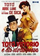 Totò, Vittorio e la dottoressa - Italian Theatrical poster (xs thumbnail)