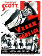 A Lawless Street - French Movie Poster (xs thumbnail)