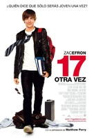 17 Again - Mexican Movie Poster (xs thumbnail)