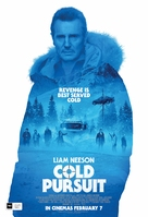 Cold Pursuit - New Zealand Movie Poster (xs thumbnail)